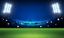 Bright Stadium Arena Lights Ve...