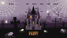 Halloween Party Website Design...