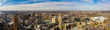 Aerial Panorama Downtown Detro...