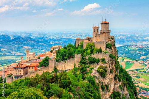 Rocca della Guaita, the most ancient fortress of San Marino, Italy Canvas