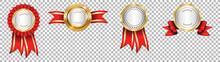 Award Ribbon Vector Design. Co...