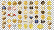Award Ribbon Vector Design. Co...