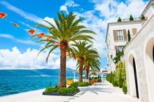 Beautiful Sea Promenade In Tiv...