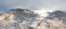 Aerial View Of Krasnaya Polyan...