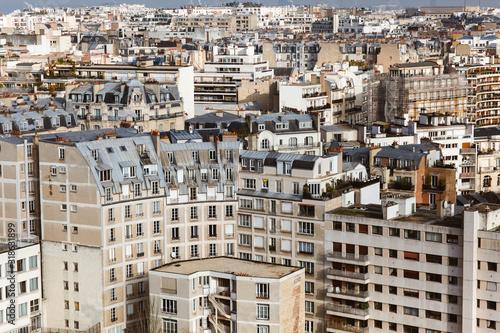 Fotografie, Obraz Vue aérienne de Paris
