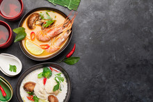 Tom Yum And Tom Kha Traditiona...
