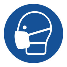 Safety Wear Mask Sign