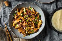 Homemade Chinese Mu Shu Pork