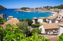 Puerto De Soller, Mallorca, Sp...