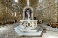 Statue Of The Baptismal Font I...