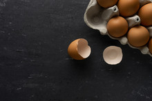 Brown Chicken Eggs, One Place ...