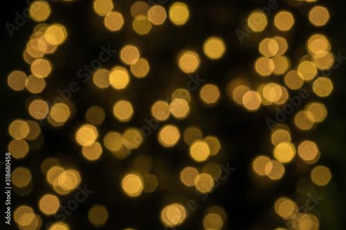Fototapeta Defocused Image Of Illuminated Lights obraz na płótnie