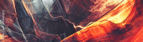 Photo Abstract future background