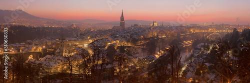 View of Bern in Switzerland.