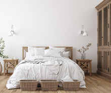 Scandinavian Farmhouse Bedroom...