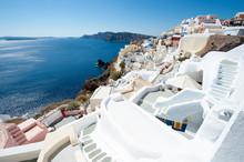 Classic Santorini Staircases W...