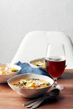 Farro Kale Soup