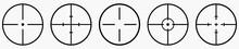 Sight Icon Set Vector