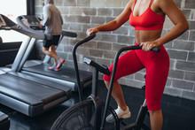 She's A Fitness Fanatic