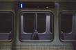 Close-Up Of Train Windows