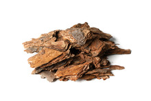Heap Of Pine Tree Bark Chip Is...