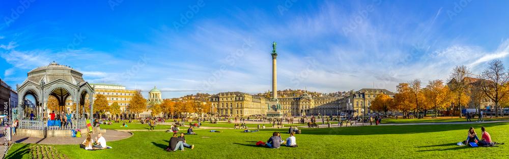Neues Schloss, Schlossplatz, Stuttgart, Deutschland <span>plik: #318727464 | autor: Sina Ettmer</span>