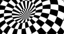 Vector Optical Illusion Stripp...
