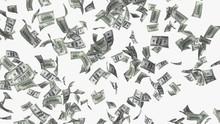 Falling Money Rain Concept Ill...