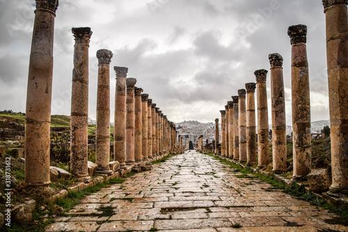Fotografering Jerash, Jordan