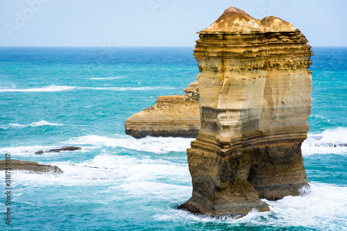 Fotografie, Obraz SCENIC VIEW OF SEA AGAINST CLEAR SKY