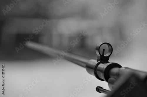 Fototapeta Close-Up Of Gun