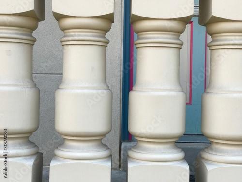 Fotografía Full Frame Shot Of Balusters