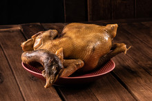 Roasted Duck For Paying Respec...