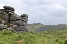 Hound Tor At Dartmoor National...