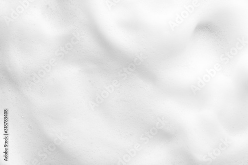 White foam texture close up background Wallpaper Mural