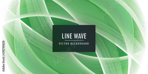 Abstract motion wave background Canvas Print