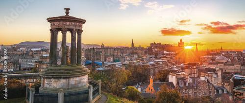 Fotografie, Obraz Monument In City Against Sky During Sunset