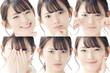 色々な表情の女性
