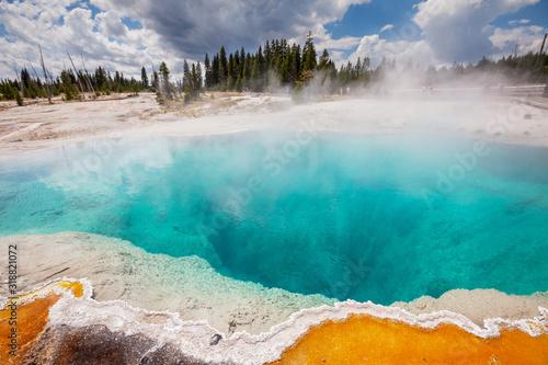 Yellowstone Fototapet
