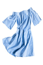 Blue Dress Isolated