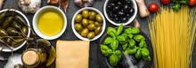 Mediterranean Food Ingredients...