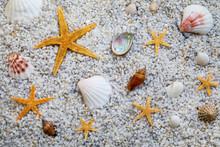 Sand Beach Summer Background W...