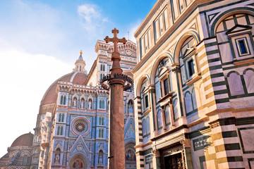 Majestic cathedral Santa Maria del Fiore in Florence