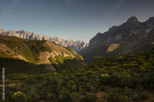Picos de Europa National Park. Spain. Canvas Print