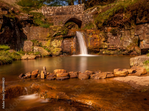 Canvas Print SCENIC VIEW OF WATERFALL