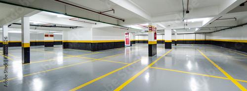 Fotografía View Of Empty Parking Lot