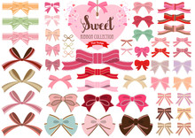 Sweet Ribbon Collection -Flat Design-