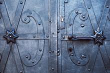 Vintage Iron Doors