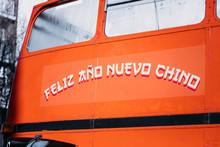 Autobús De Dos Pisos Durante ...