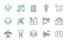 Air Icons Set